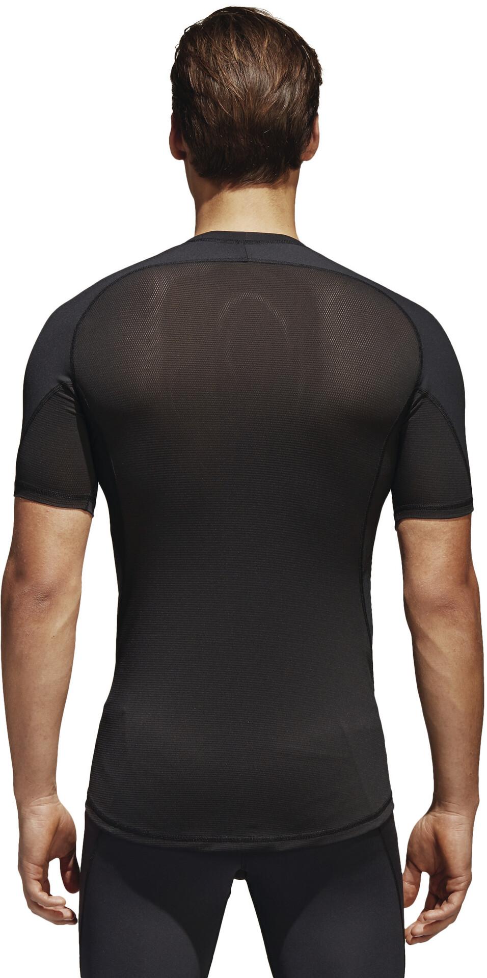 adidas Alphaskin T shirt Herrer, black
